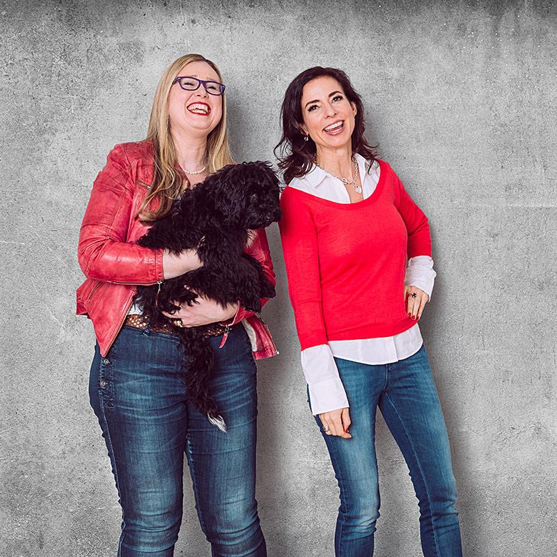 Ella · Unser Bürohund, Kerstin & Leona